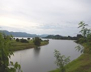 lake timah-tasoh in perlis, malaysia