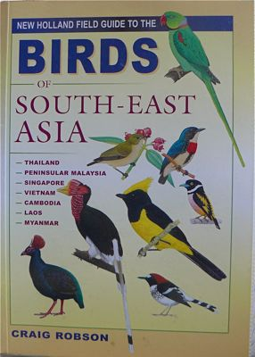 image of the book on birds of south-east asia by craig robson