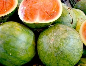 picture of red watermelon