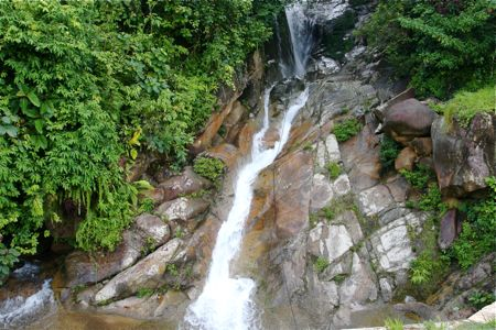 waterfalls at tasik kenyir