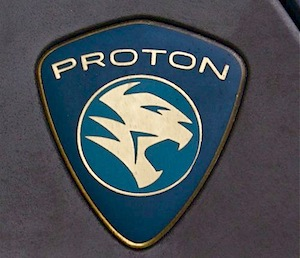 picture of proton car badge mark of tiger